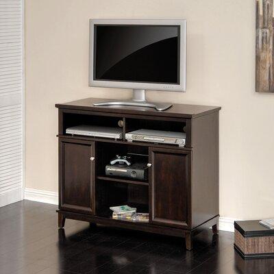 Cheap Sauder Linden Court 41″ Seadfast Highboy TV Stand in Mahogany (SAU1341)