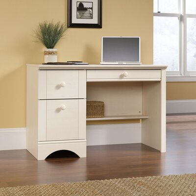 Sauder Harbor View Computer Desk in Antique White at Sears.com