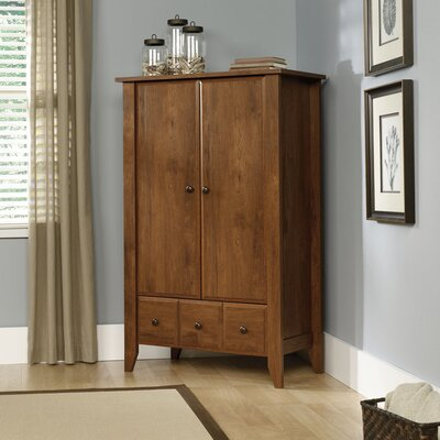 Loan for furniture Shoal Creek Armoire Finish: Oiled O...