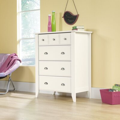 Easy furniture financing Shoal Creek 4 Drawer Chest Finish: ...