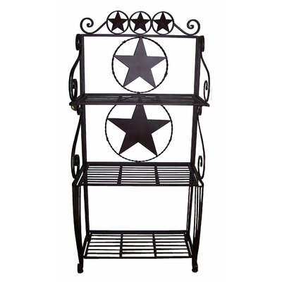 Star Wrought Iron Braker's Rack 21215