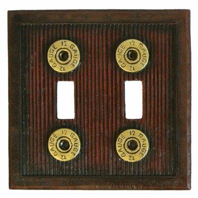 Double Light Socket Plate
