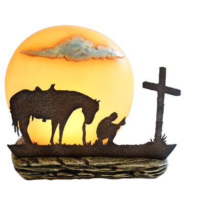 Praying Cowboy Night Light