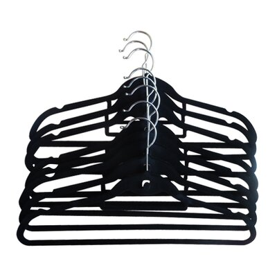Velvet Hanger Color: Black VBLKH1001