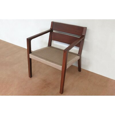 Managua Arm Chair Upholstery: Khaki Manila