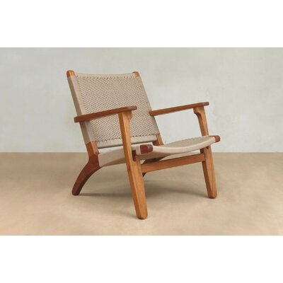Armchair Upholstery: Khaki Manila