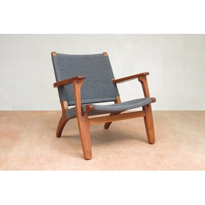 Armchair Upholstery: Indigo Manila