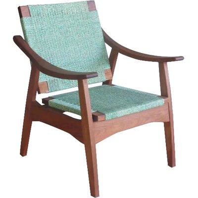 Izapa Armchair Upholstery: Iguana Manila