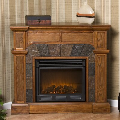 Wildon Home Market Electric Fireplace - Finish: Oak at Sears.com