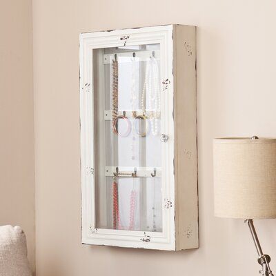 Wildon Home Davida Shabby Elegance Wall Mount Jewelry Armoire at Sears.com