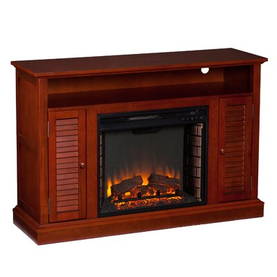 "Wildon Home Carron 48"" TV Stand with Electric Fireplace at Sears.com"