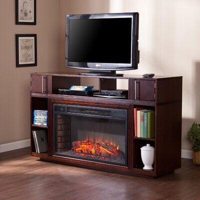 "Wildon Home Windermere 56"" TV Stand with Electric Fireplace at Sears.com"