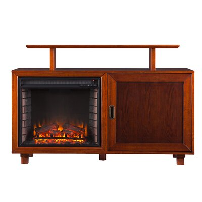 "Wildon Home Barton 51"" TV Stand with Electric Fireplace at Sears.com"