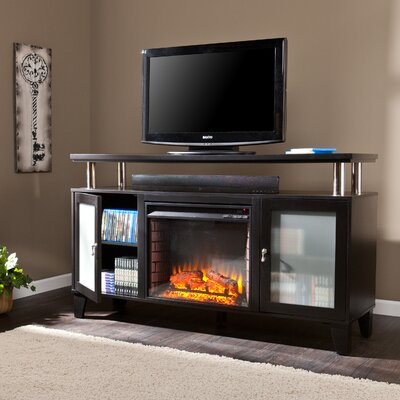 "Wildon Home Sutton 60"" TV Stand with Electric Fireplace at Sears.com"