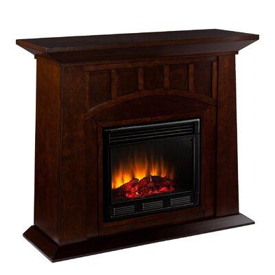 fireplaces dark wood sears