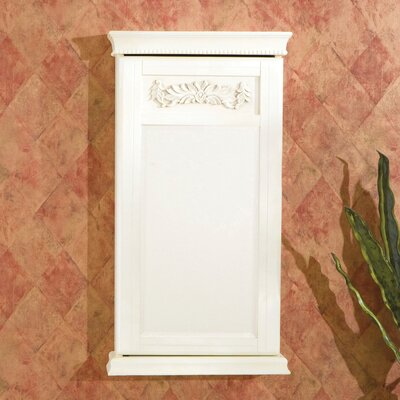 Wildon Home Waverly Wall Mount Jewelry Armoire in Antique White at Sears.com