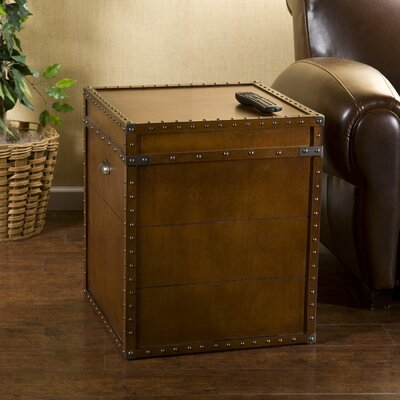 Cheap Wildon Home King End Table in Walnut (UT2266)