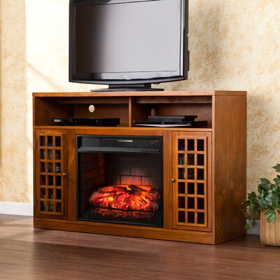 Fredericksen 48 TV Stand with Fireplace