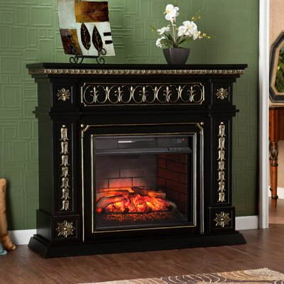 Music Infrared Electric Fireplace
