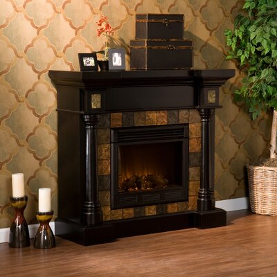 Wildon Home Clark Electric Fireplace - Finish: Black at Sears.com