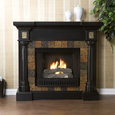 Clark Gel Fuel Fireplace Finish: Black
