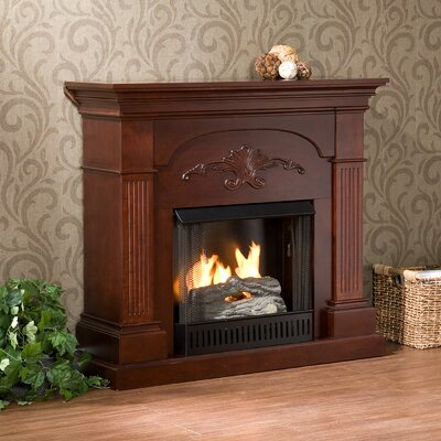 Sicilian Harvest Gel Fuel Fireplace Finish: Mahogany