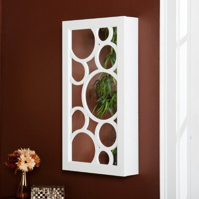 Wildon Home Britlee Wall Mount Jewelry Mirror at Sears.com