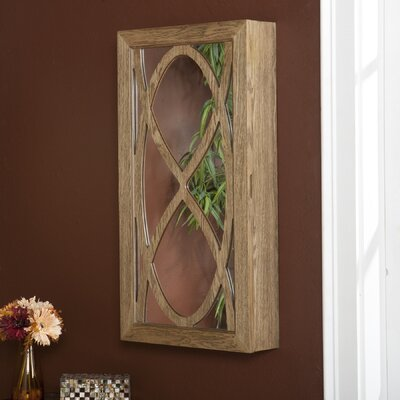 Wildon Home Juliann Wall Mount Jewelry Mirror at Sears.com