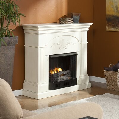 Sicilian Harvest Gel Fuel Fireplace Finish: Ivory