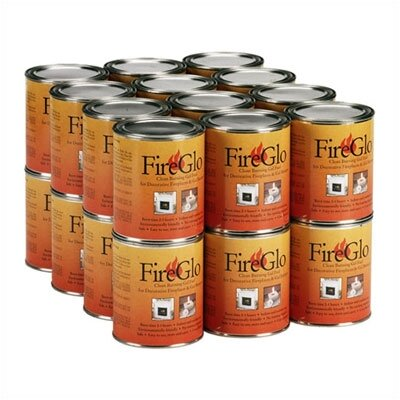 Can FireGlo Gel Fuel Size: 24 Cans