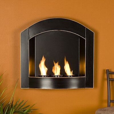 Bad credit financing Arch Wall Mounted Fireplace...