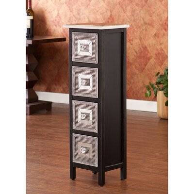 Wildon Home Woburn 4 Drawer Storage Tower at Sears.com
