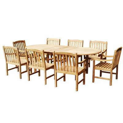 Wildon Home Thompson 9 Piece Dining Set at Sears.com