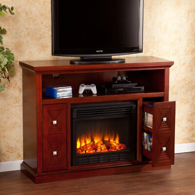 delaney 48 tv stand with fireplace  74801