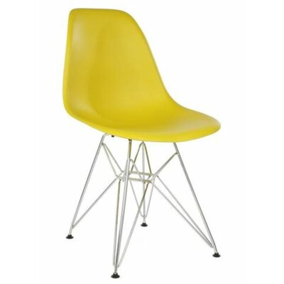 Gaul Dining Chair Color: Yellow