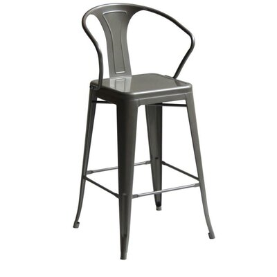 Penagos High Back 30 Bar Stool with Arms
