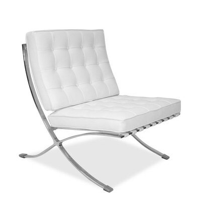 Houck Papasan Chair Upholstery: White