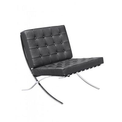 Houck Papasan Chair Upholstery: Black