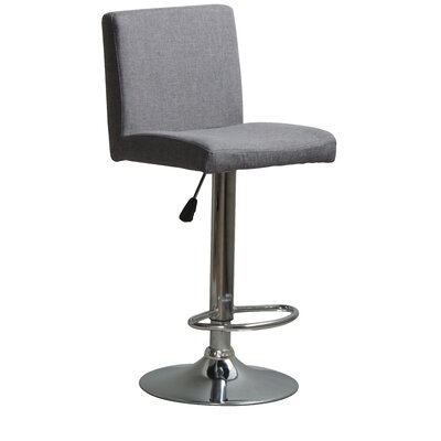 Hylan Adjustable Height Swivel Bar Stool