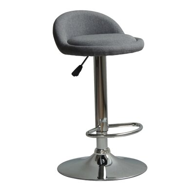 Huseby Adjustable Height Swivel Bar Stool