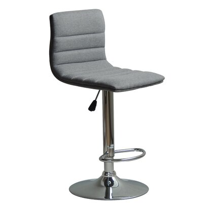 Hurtt Adjustable Height Swivel Bar Stool