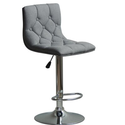 Grahm Adjustable Height Swivel Bar Stool