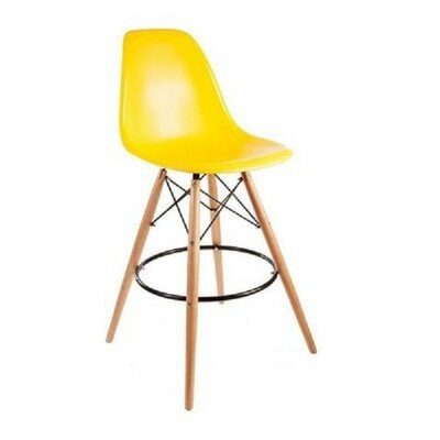 Humes 26.4 Bar Stool Color: Yellow