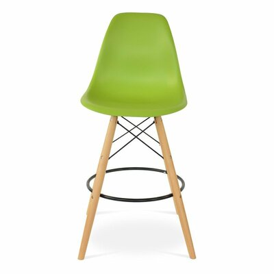 Humes 26.4 Bar Stool Color: Green