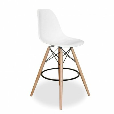 Humes 26.4 Bar Stool Color: White