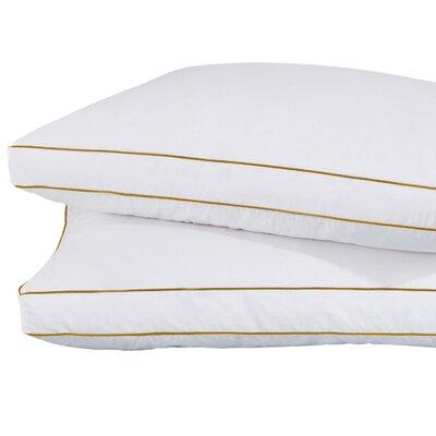 Plush Hypoallergenic 2 Pack Gel Fiber Queen Pillow