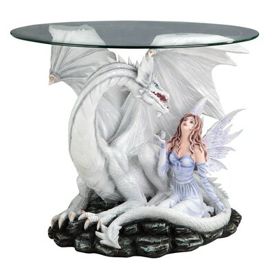Fairy and Dragon Glass Indoor Table