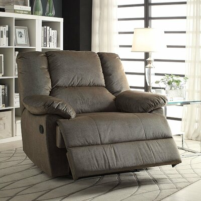 Omaha Over-sized Manual Glider Recliner Upholstery: Sage