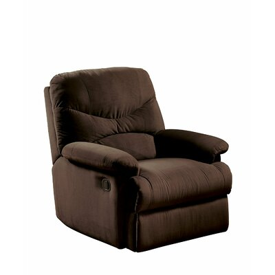 Cagnie Microfiber Manual Recliner