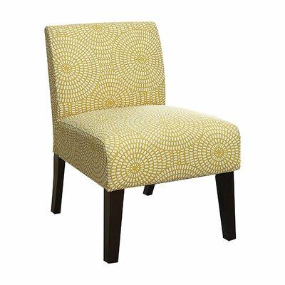Gloucester Living Room Linen Slipper Chair Upholstery: Yellow
